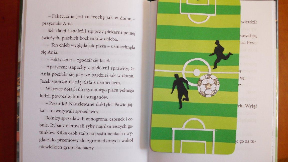 Zdjęcie zakładki do książki