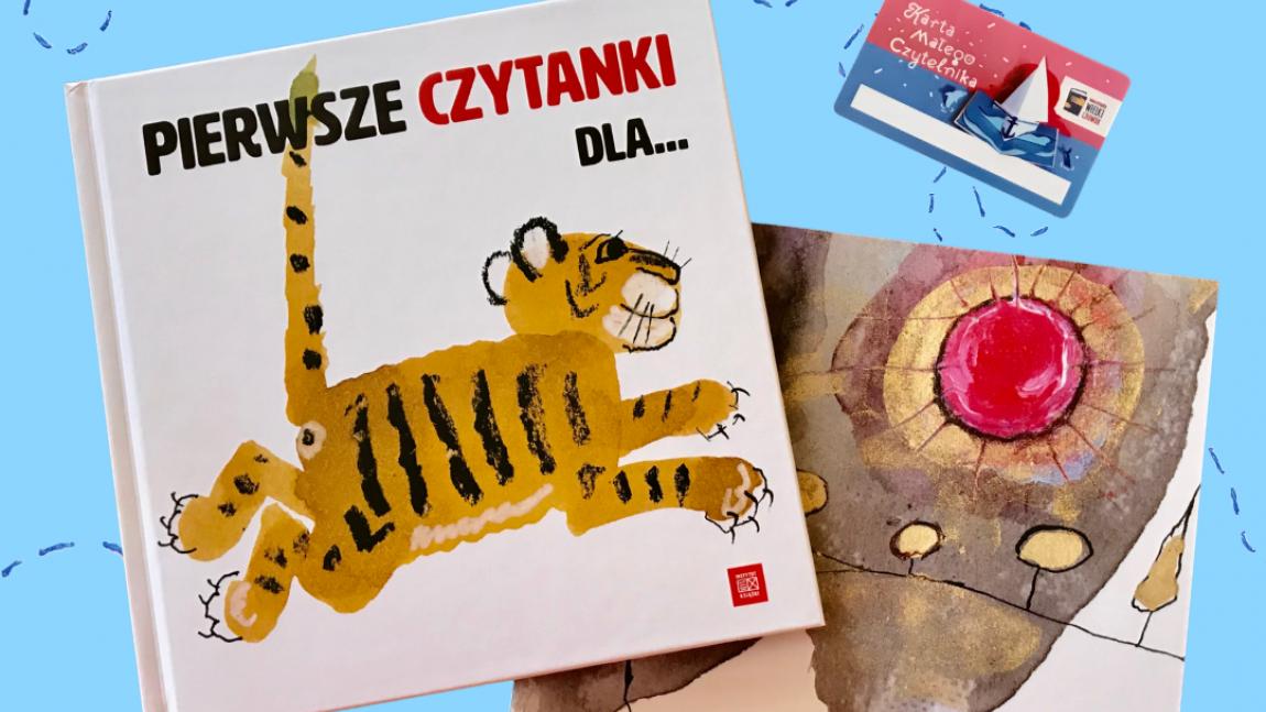 Plakat promujący akcję Mała Książka- Wielki Człowiek